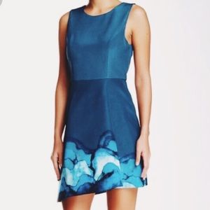 Stylestalker Hypnotized Dress With Asymmetric Hem